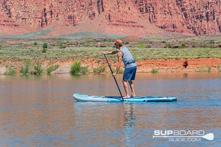 SUP Board Guide Gili Adventure Stability