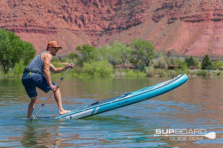 SUP Board Guide Gili Meno Maneuverability