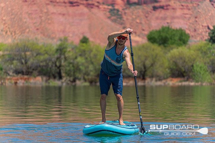 SUP Board Guide Gili Meno Tracking / Glide