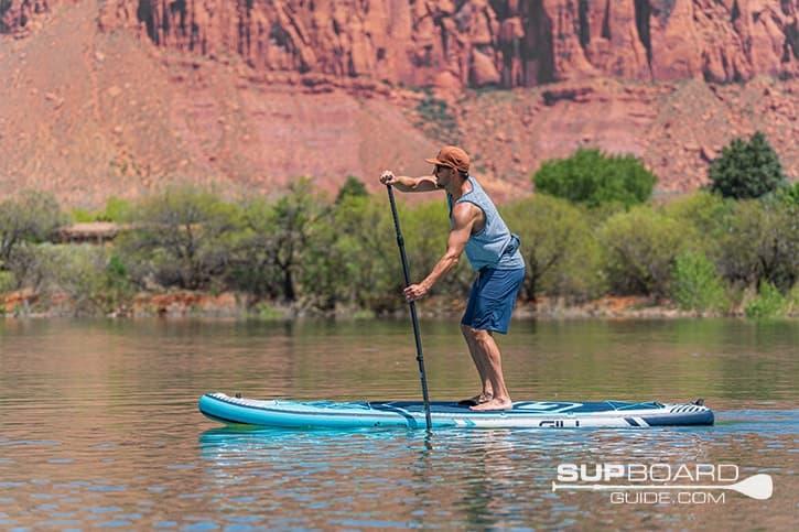 SUP Board Guide Gili Meno stability