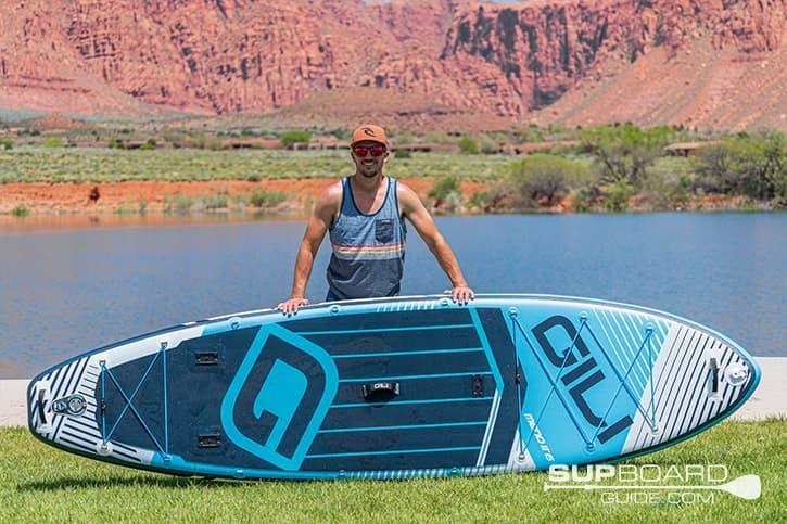 SUP Board Guide Gili Meno Board Design
