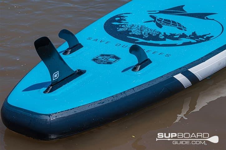 SUP Board Guide Gili Meno Fins