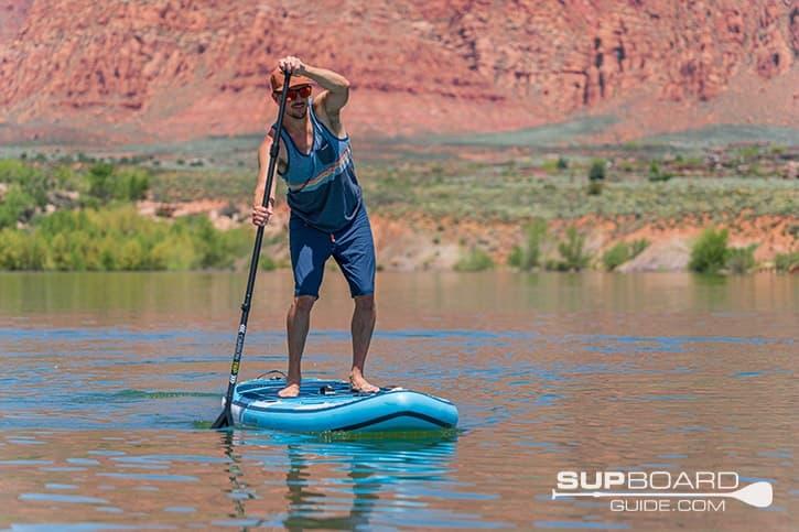 SUP Board Guide Gili Meno Tracking