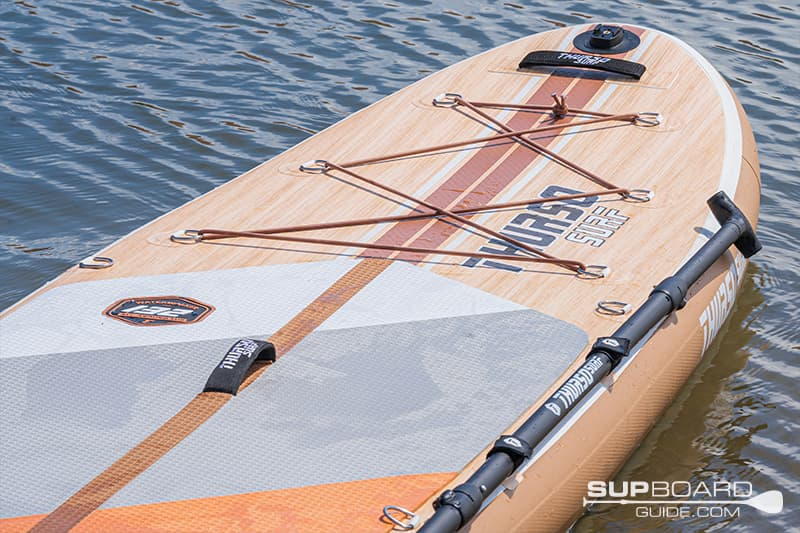 Thurso Waterwalker 132 Board Features With Paddle