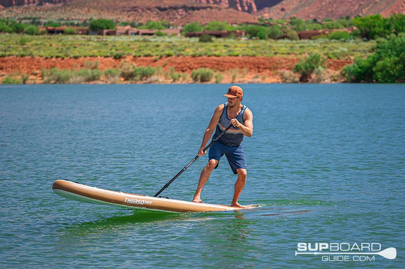 SUP Thurso Waterwalker 132 Maneuverability