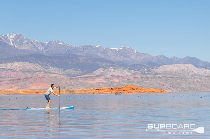 Bay Sports 10'6 Explore Inflatabel SUP Stability