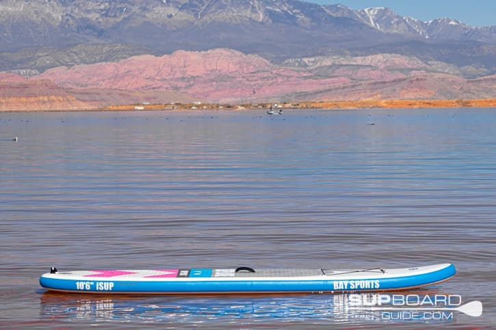 SUP Board Guide Bay Sports Materials