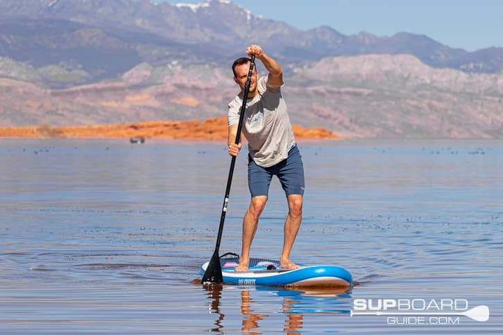SUP Board Guide Bay Sports Tracking