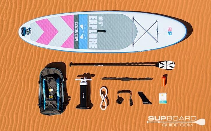 SUP Board Guide Bay Sports Explore Accessories