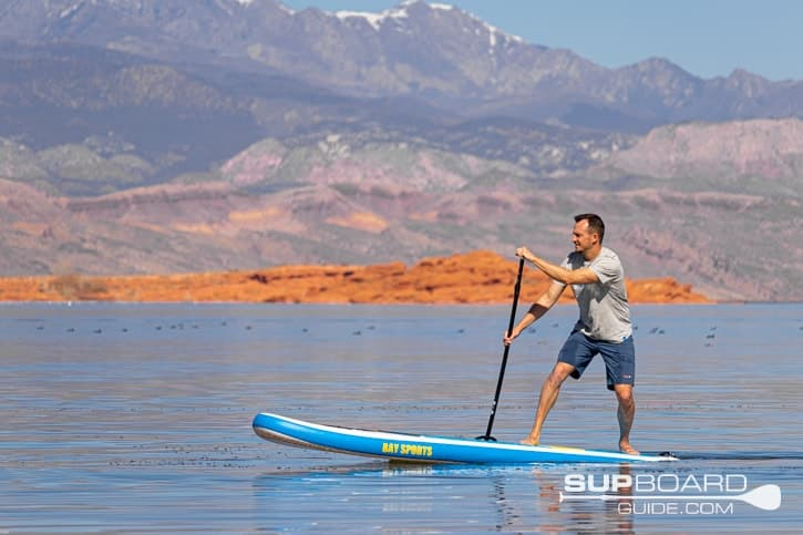SUP Board Guide Bay Sports Seek Maneuverability
