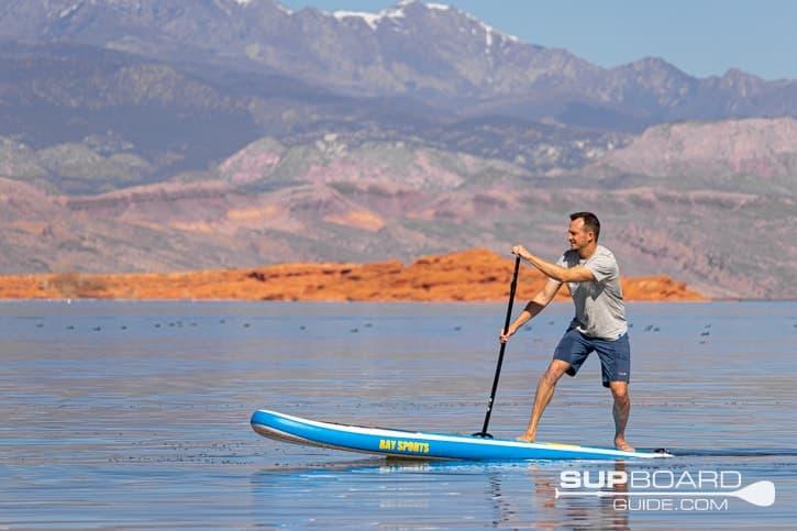 SUP Board Guide Bay Sports Seek Maneuverability