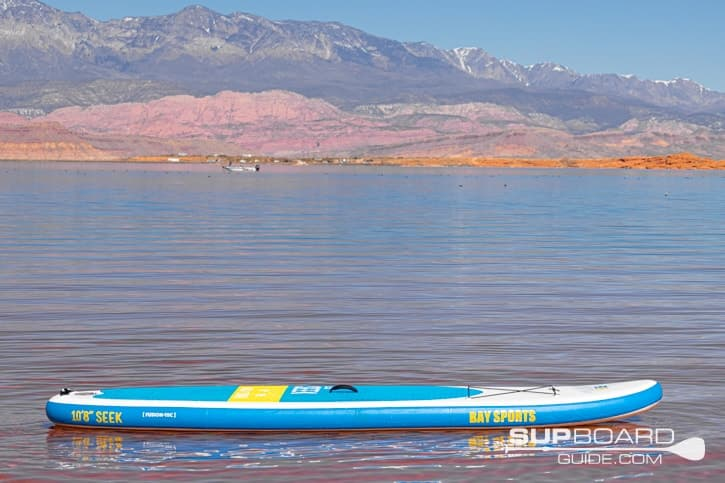 SUP Board Guide Bay Sports Seek Materials