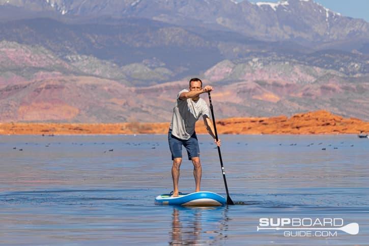 SUP Board Guide Bay Sports Seek Tracking