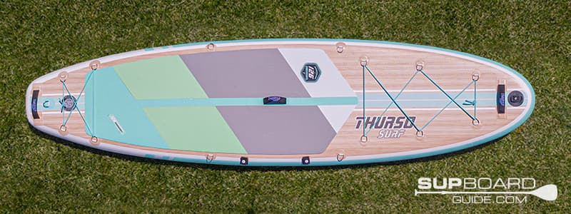 Thurso Surf Waterwalker 126 Board Shape