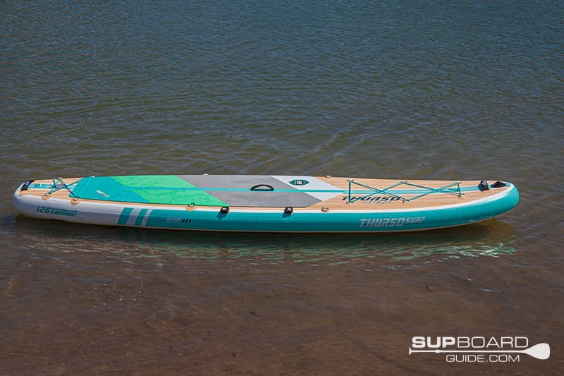 Thurso Surf Waterwalker 126 Materials