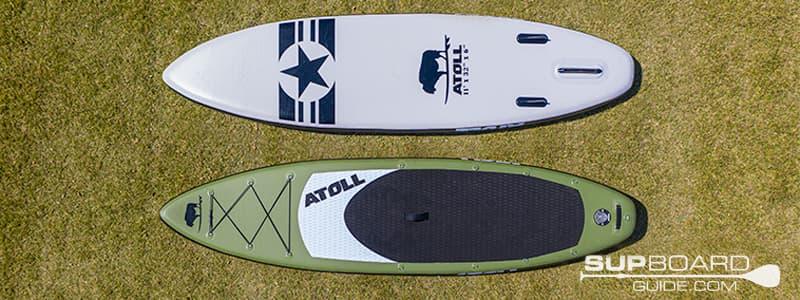 Atoll iSUP 11 Board Shape