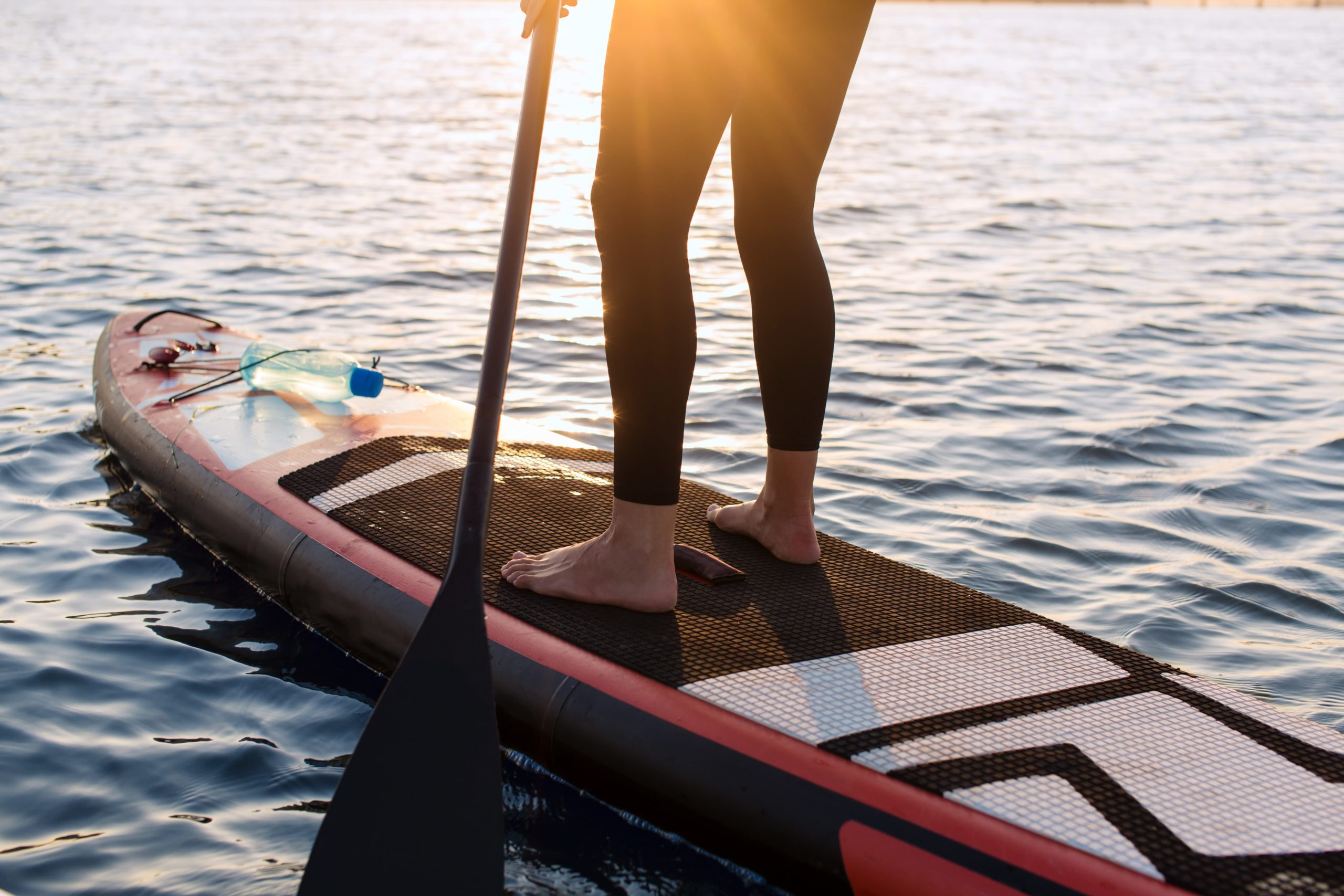 Feet placement Improving Your Paddle Strokes