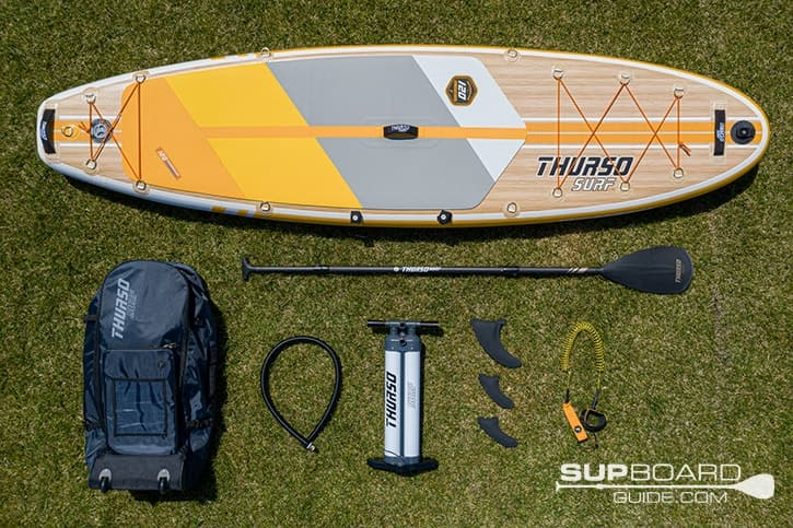 SUP Board Guide Thurso Surf Waterwalker 120