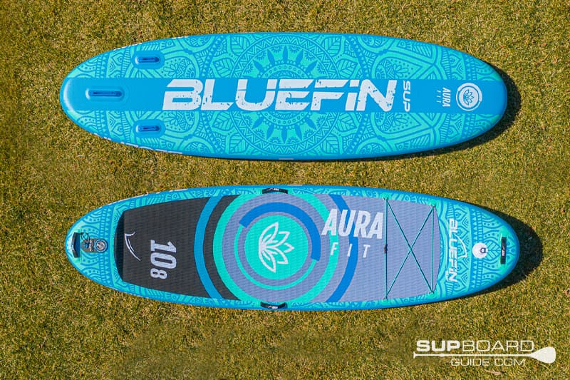 Bluefin Aura 108 Bottom Design