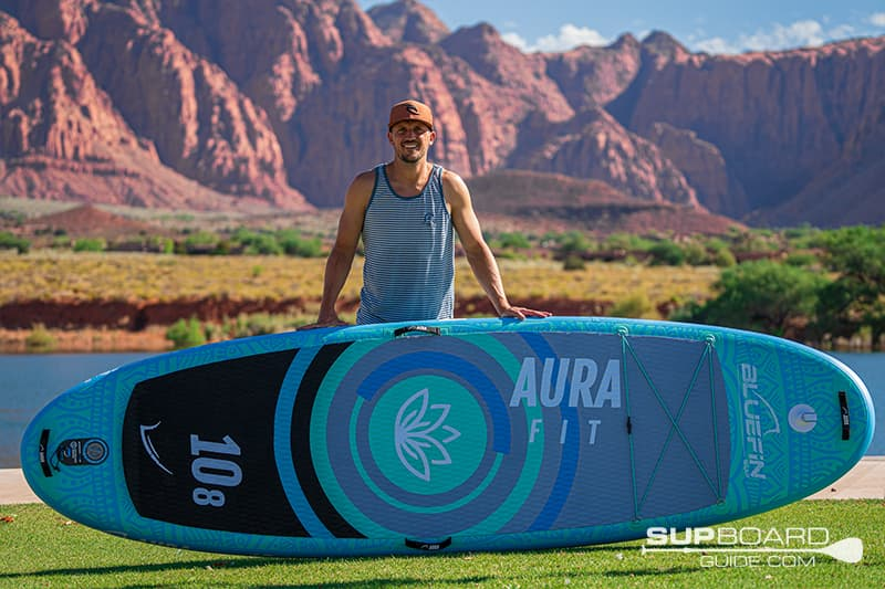Bluefin Aura 108 SUP Review