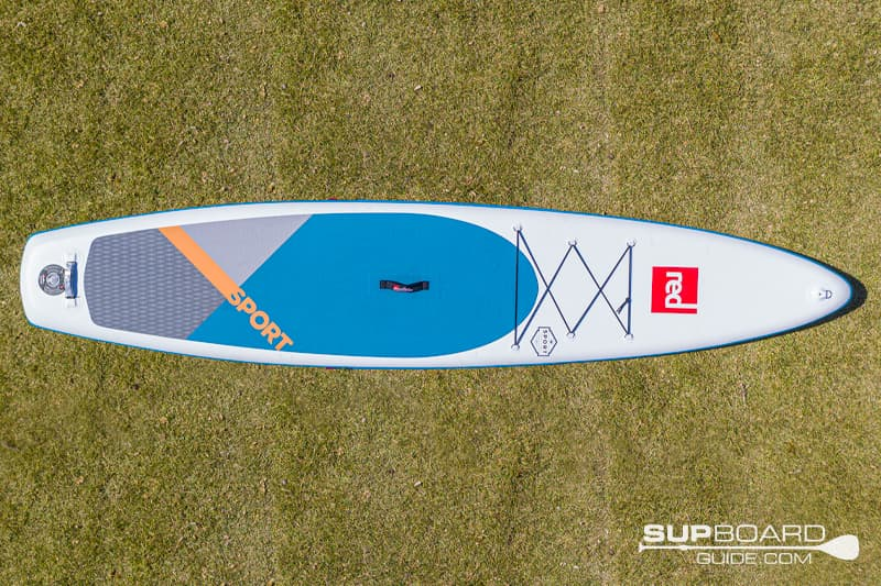 Red Paddle Co Sport 126 Board Shape