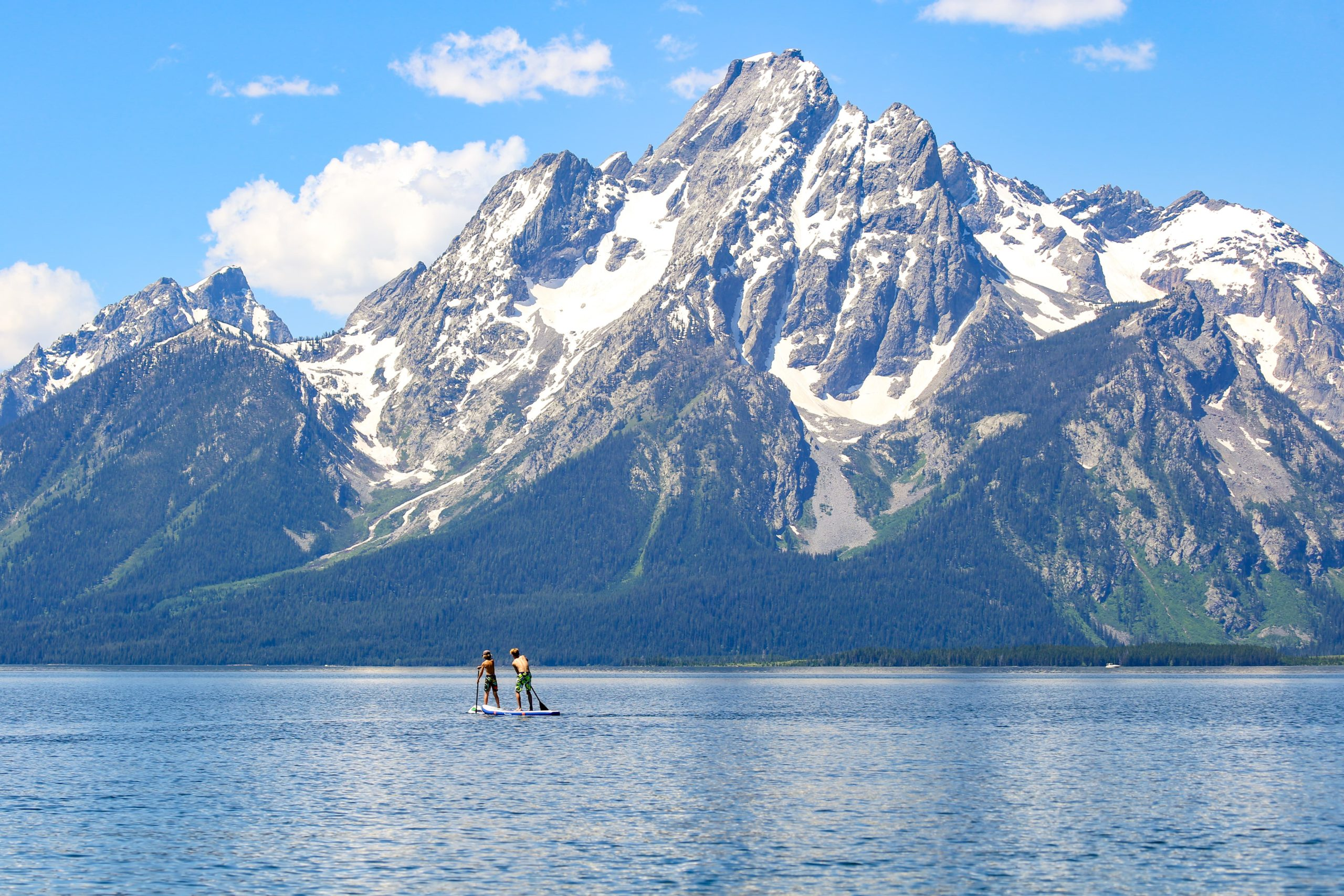Grand Teton National Park Paddleboard