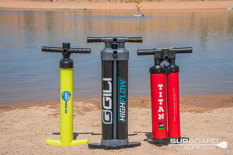 SUP Pump Types of Pumps