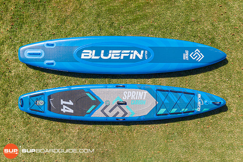 SUPBoardGuide Bluefin Sprint Board Shape Design