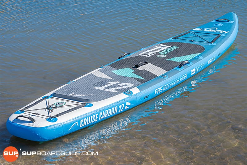 SupBoardGuide Bluefin Carbon Cruise Board Design