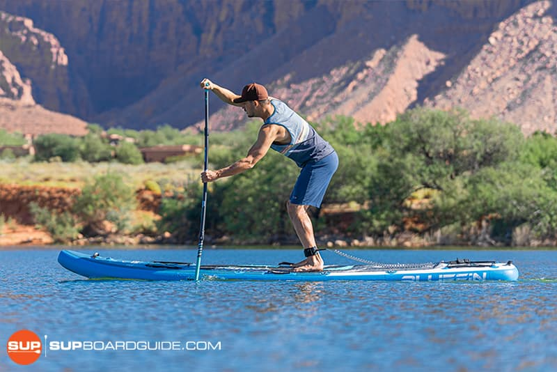 SupBoardGuide Bluefin Carbon Cruise Stability