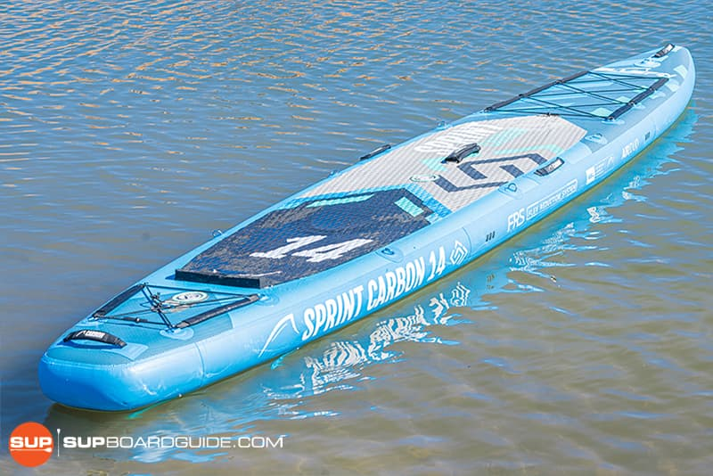 SupBoardGuide Bluefin Carbon Sprint Board Design