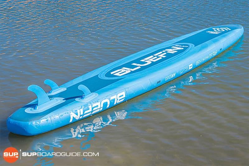 SupBoardGuide Bluefin Carbon Sprint Board Shape