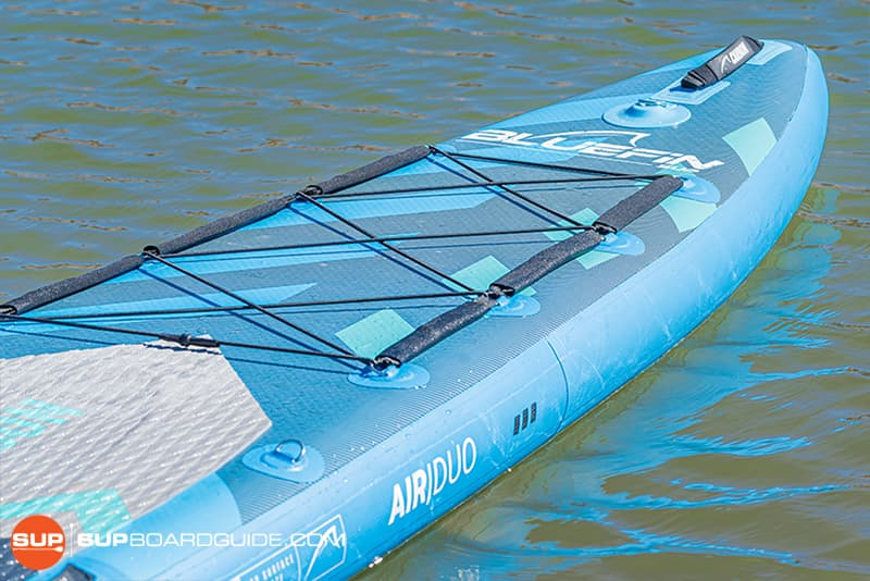 SupBoardGuide Bluefin Carbon Sprint Board Features