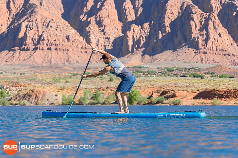 SupBoardGuide Bluefin Carbon Sprint Stability