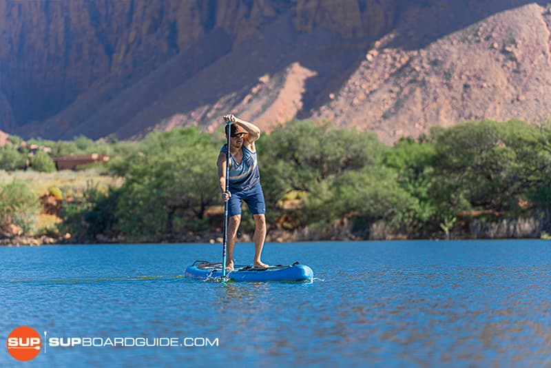 SupBoardGuide Bluefin Carbon Sprint Tracking