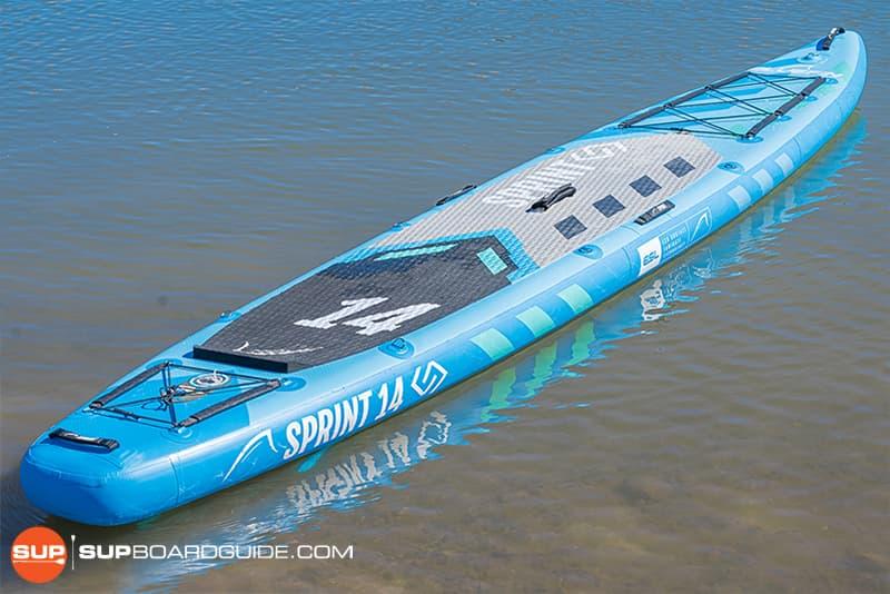 SupBoardGuide Bluefin Sprint Board Design