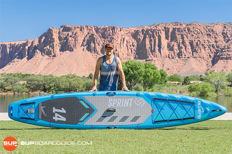 SupBoardGuide Bluefin Sprint SUP Review