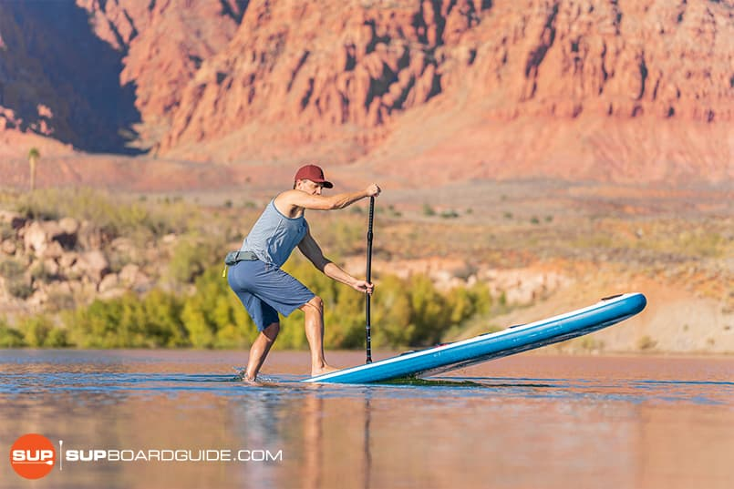 Red Paddle Co Sport 11'3 Maneuverability