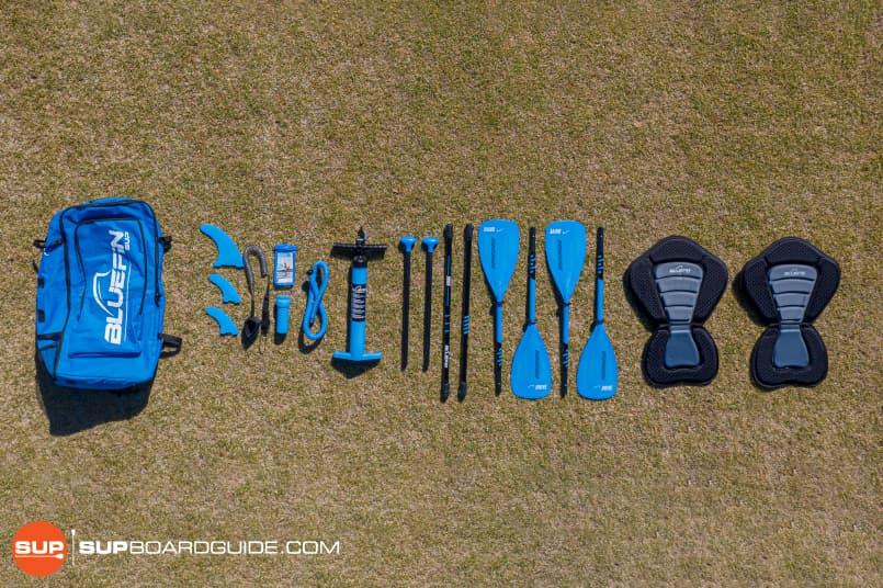 Bluefin 15' Tandem Cruise Accessories
