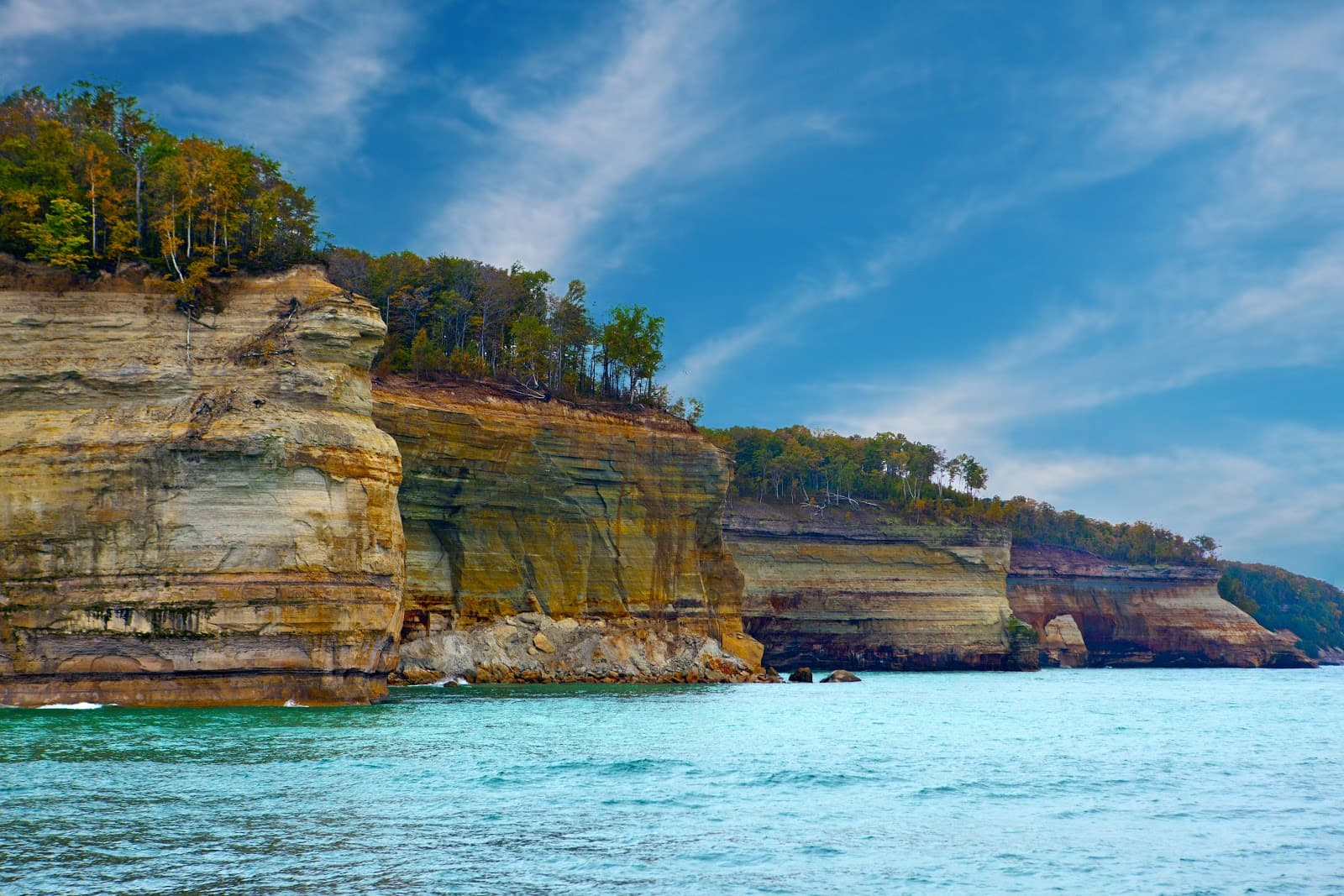 Pictured Rocks SUP