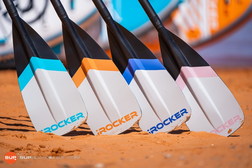 iRocker All Around 11 iSUP Review - Carbon Paddle