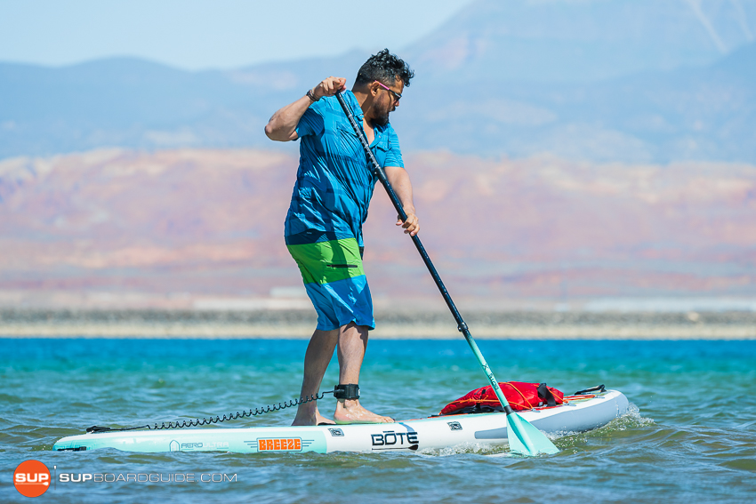 Bote Breeze Inflatable Paddle Board Review Maneuverability