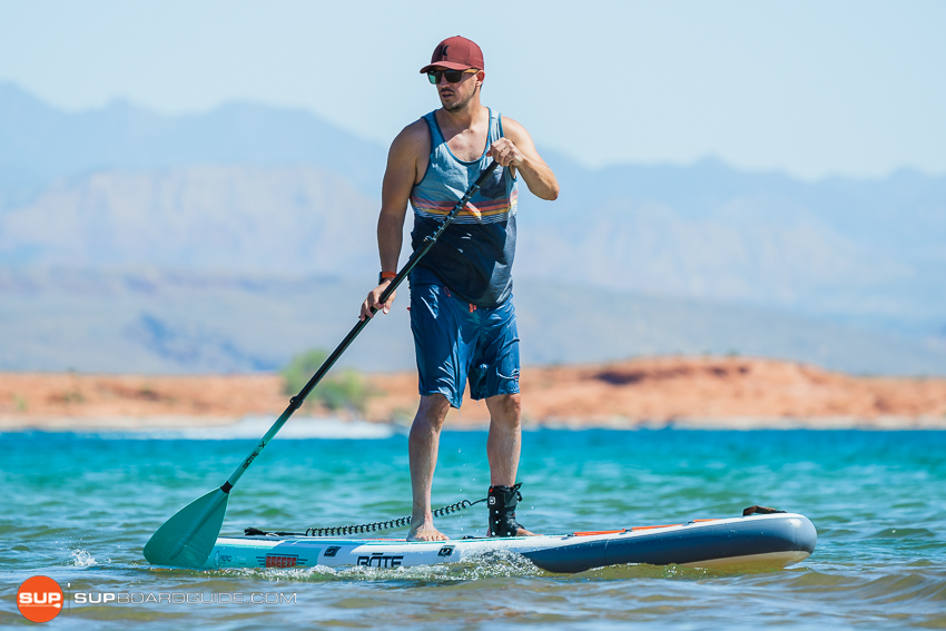 Bote Breeze Inflatable Paddle Board Review Maneuvering