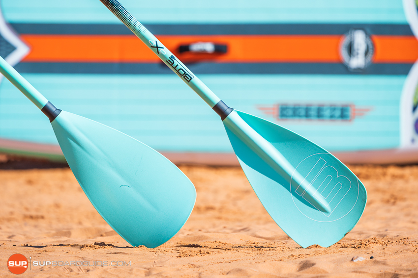 Bote Breeze Inflatable Paddle Board Review Paddle