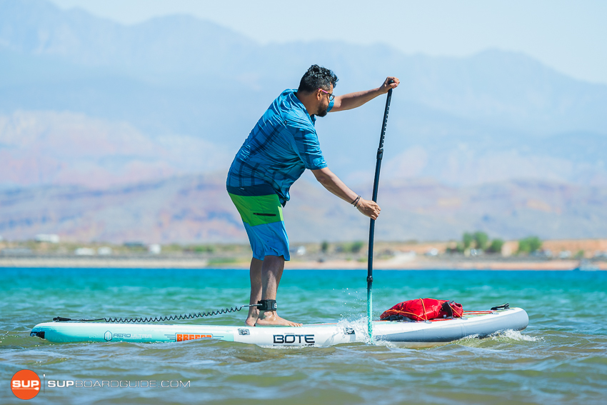Bote Breeze Inflatable Paddle Board Review Planing