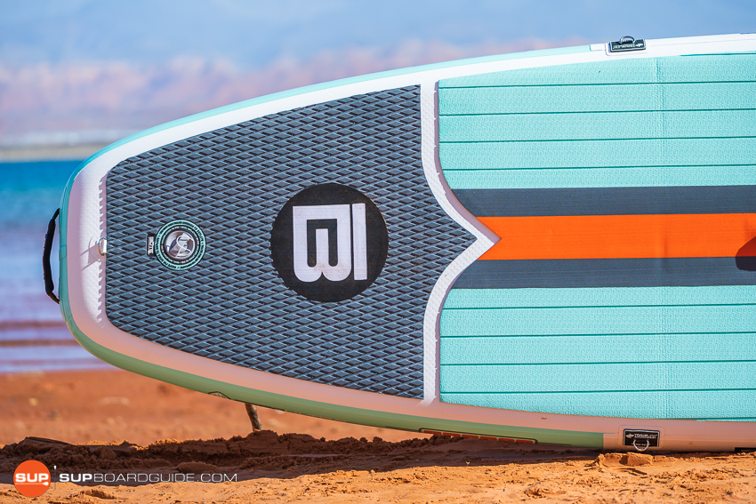 Bote Breeze Inflatable Paddle Board Review Tail Features