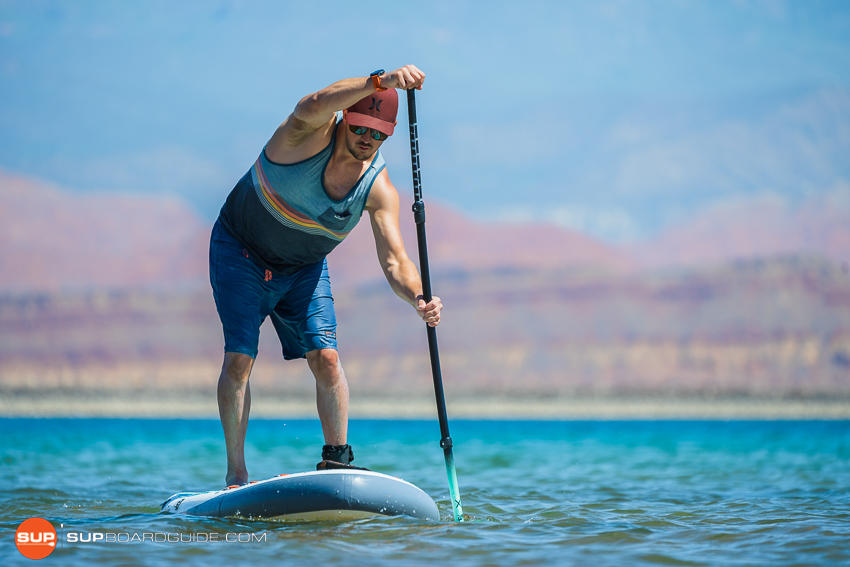 Bote Breeze Inflatable Paddle Board Review Tracking