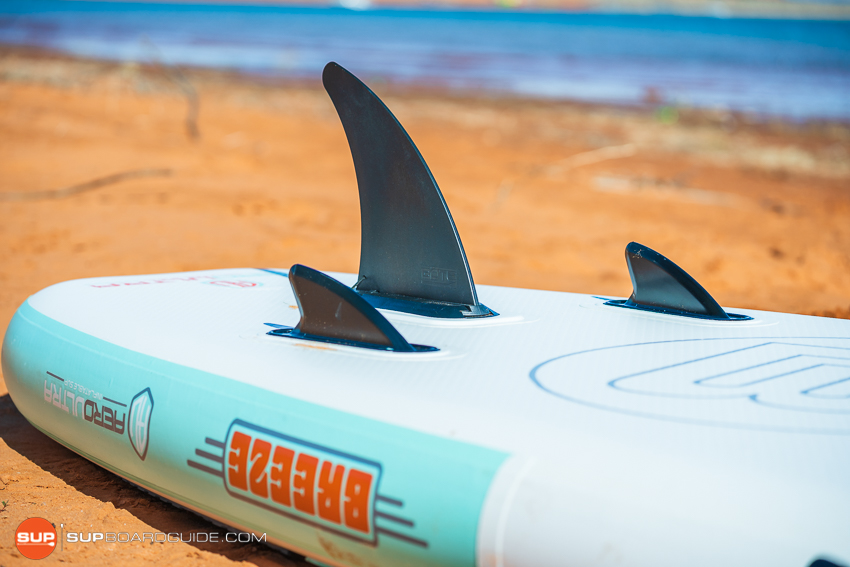 Bote Breeze Inflatable Paddle Board Review Trifin Setup