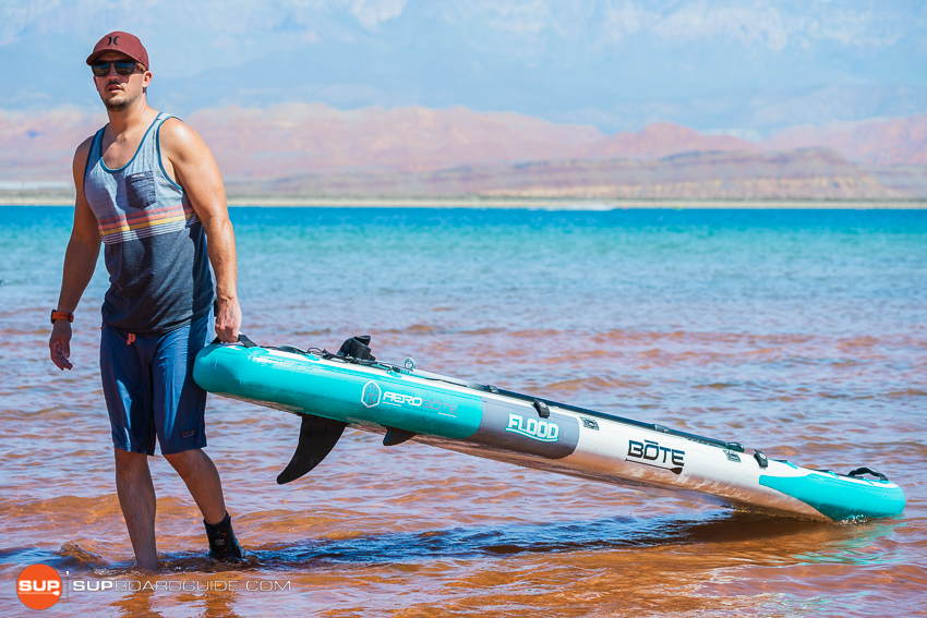 Bote Flood Inflatable SUP Review Carry Handle