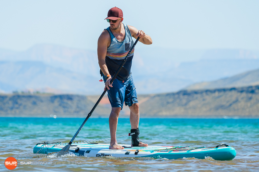 Bote Flood Inflatable SUP Review Maneuverability